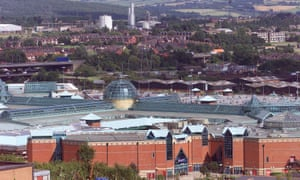HS2 Ltd decided to route its line away from Meadowhall shopping centre.