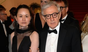 With his wife Soon-Yi in Cannes in 2015