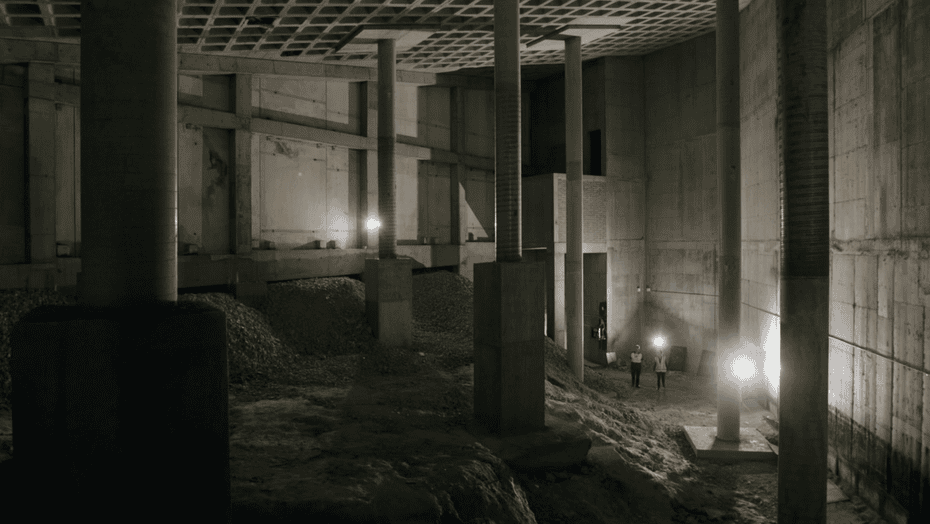 The 'cathedral' in the basement of Parliament House