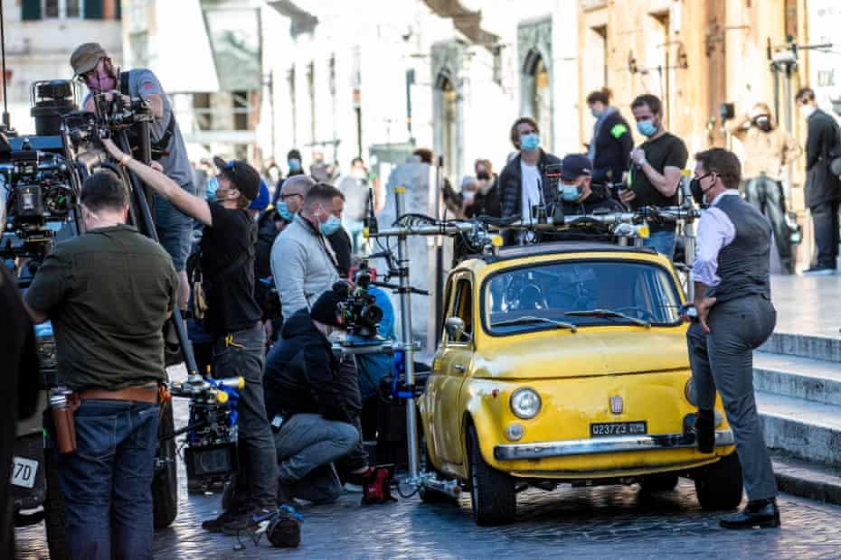 Hundreds of jobs … on location in Rome.