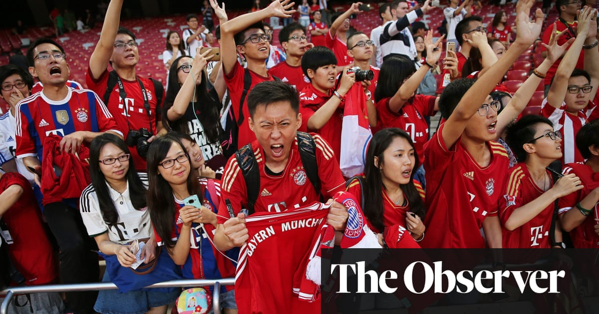 Manchester United lead charge as European clubs battle for Chinese hearts f381f879a