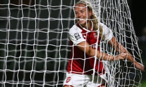 Jordan Nobbs has been allowed to focus on a more attacking, creative role for Arsenal.