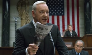 From House of Cards to … a sludgy mess destined to drown in Netflix's soup of submenus.