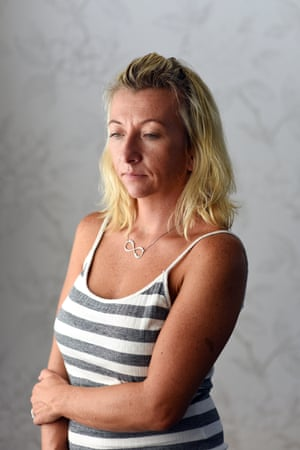 Michele Nethercott: 'I sometimes want to cut my chest open.'