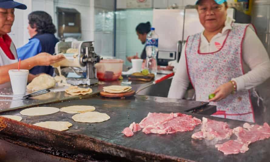 Tacos, Mexico City