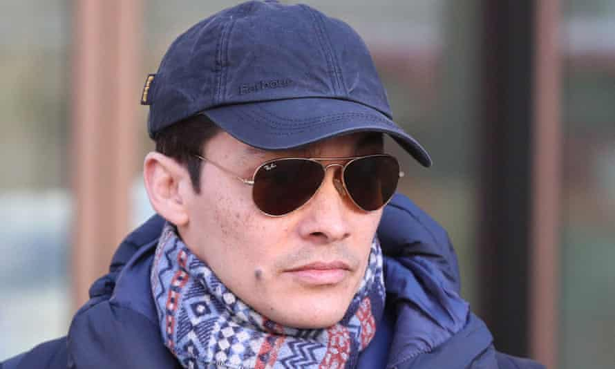 The former English National Ballet dancer Yat-Sen Chang in a cap and sunglasses.