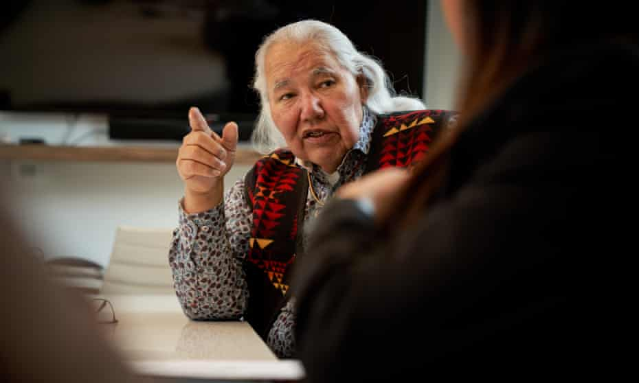 Murray Sinclair, a former judge and senator who led Canada's Truth and Reconciliation Commission.