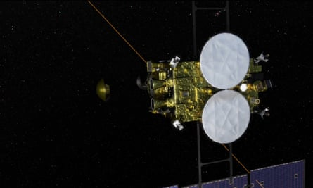 A capsule carrying asteroid samples has been released towards earth by Japna's Hayabusa2 spacecraft.