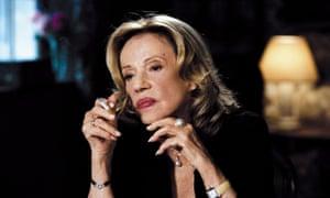 Jeanne Moreau in Le Temps qui reste, 2005