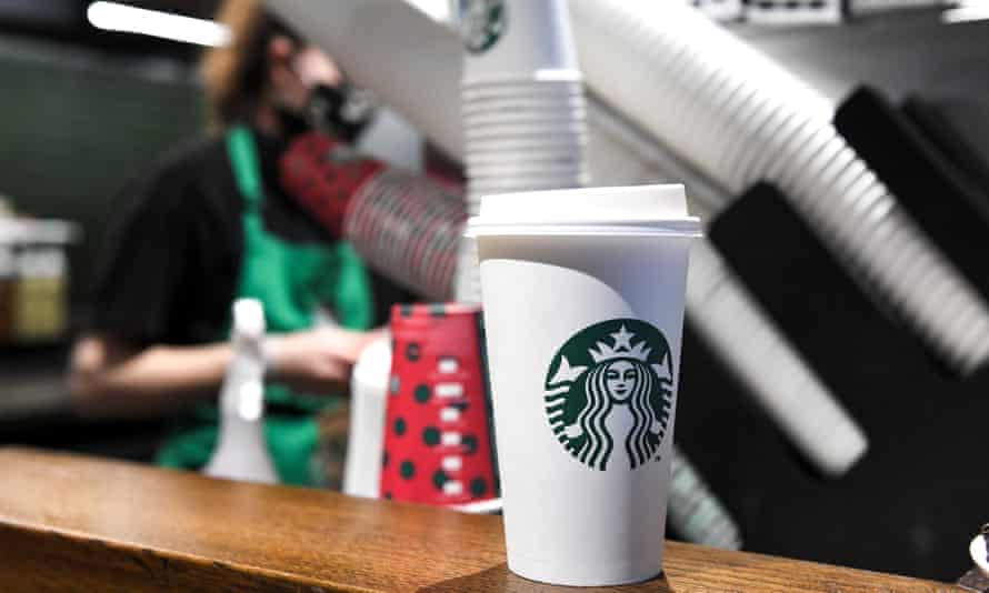 Starbucks is among the high street chains that have been recruiting staff as Covid restrictions ease.