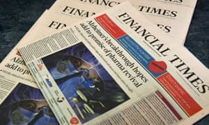 Copies of the Financial Times