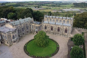 Gothic fantasy … the palatial Auckland Castle.