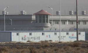 A facility in Artux, one of a growing number of internment camps in Xinjiang where an estimated 1 million Muslims are detained.