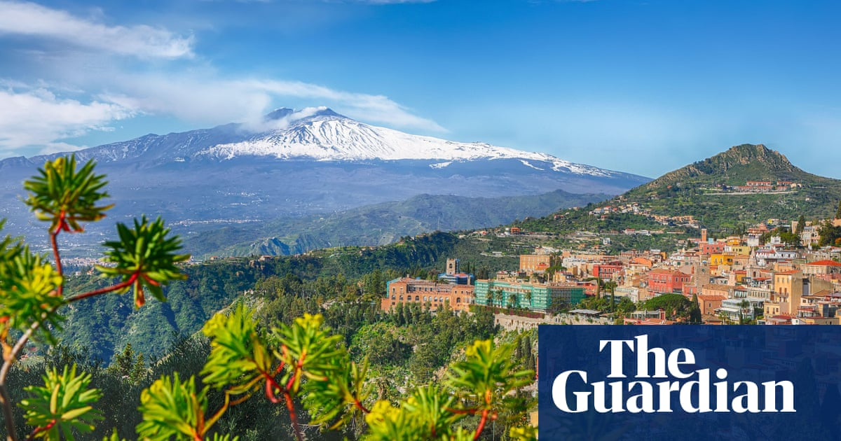 Weatherwatch: the prized blood oranges from Mount Etna