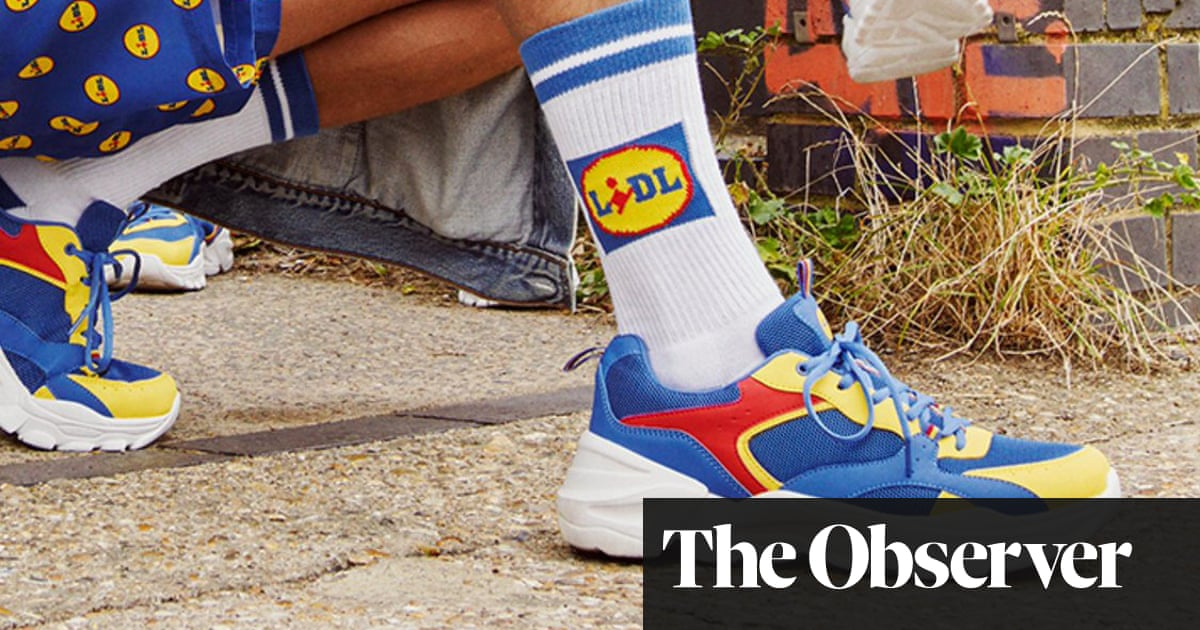Who makes the hottest trainers? Lidl! But you'll have to run…
