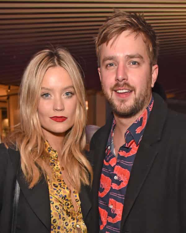 'A blow' … Iain Stirling and Laura Whitmore.