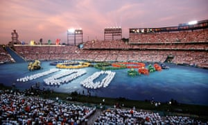 The opening ceremony of the Atlanta Olympic Games 1996