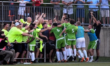 Baltimore pub league side's fairytale US Open Cup run ends against DC United