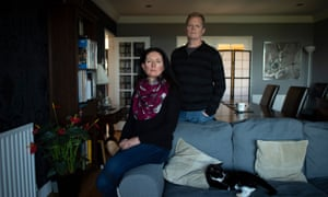 Denise Phelan and Richard Gosnold at their home in County Down.