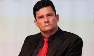 Judge Sérgio Moro, who became a hero to millions after relentlessly pursuing prosecutions in the Car Wash case.
