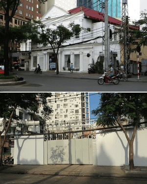 Ho Chi Minh City - before and after