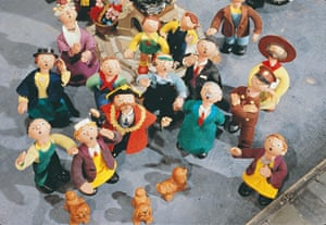 A scene from Trumpton, the children's television series created in 1967 by Gordon Murray
