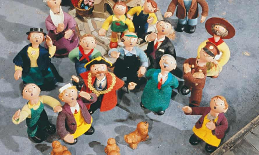 Characters in the animated series Trumpton