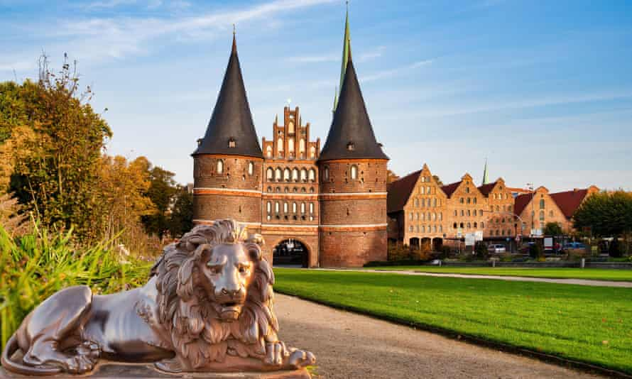 Porte Holsten (Holstentor), Lübeck