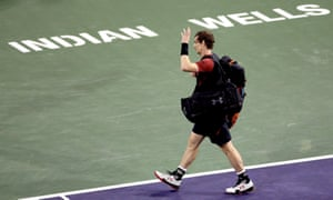 Andy Murray leaves the court after losing 6-4, 7-6 (7-5) to world No129 Vasek Pospisil.