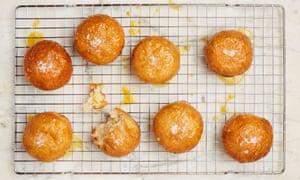 Yotam Ottolenghi's tangerine doughnuts