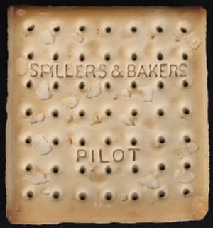 The Spillers and Bakers pilot biscuit is among a number of items to go under the hammer at Henry Aldridge & Son auctioneers in Devizes, Wiltshire.