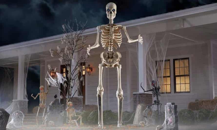 The Home Depot skeleton, which has now sold out.