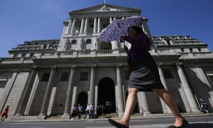 The Bank of England says Europe's financial system faces potential risks to its stability arising from a no-deal Brexit.