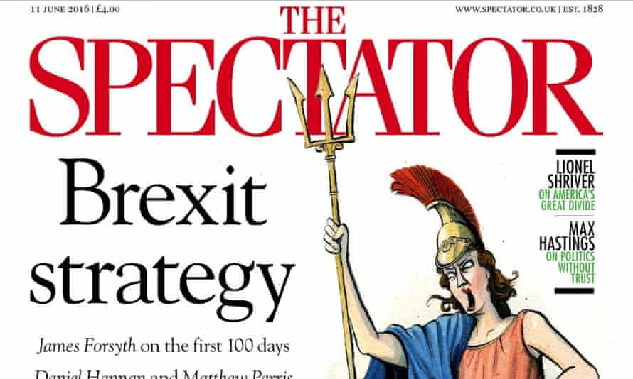 The Spectator: print sales rose to a record 57,604