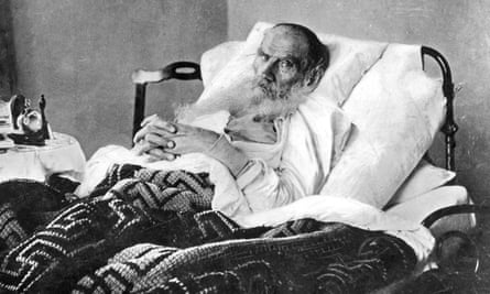 Morning thoughts … Tolstoy puts in a shift. c.1903-10.