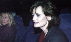 Fiona Millar (left) with Cherie Blair in 2002.
