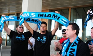 Miami MLS fans at the PAMM Art Museum in 2014.