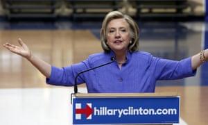 Hillary Rodham Clinton Democratic presidential candidate