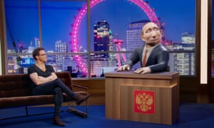 Tonight With Vladimir Putin … pointless.
