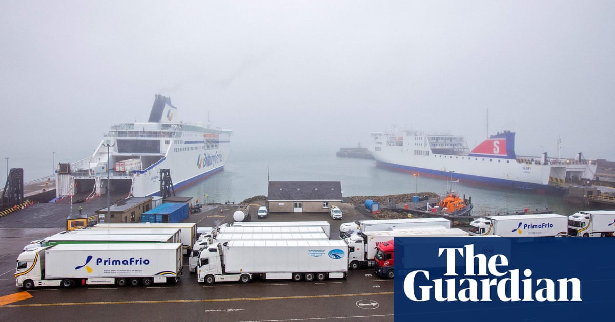 Exports from Ireland to Great Britain soar in post-Brexit trade imbalance