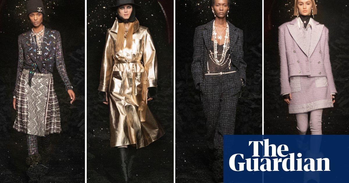 Chanel channels Stella Tenant's chic androgyny in Paris tribute