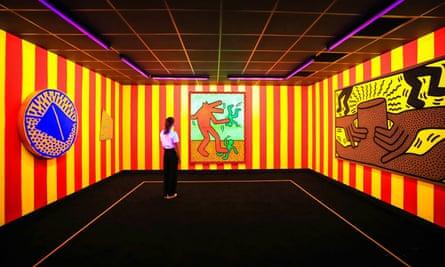 Keith Haring at Tate Liverpool.