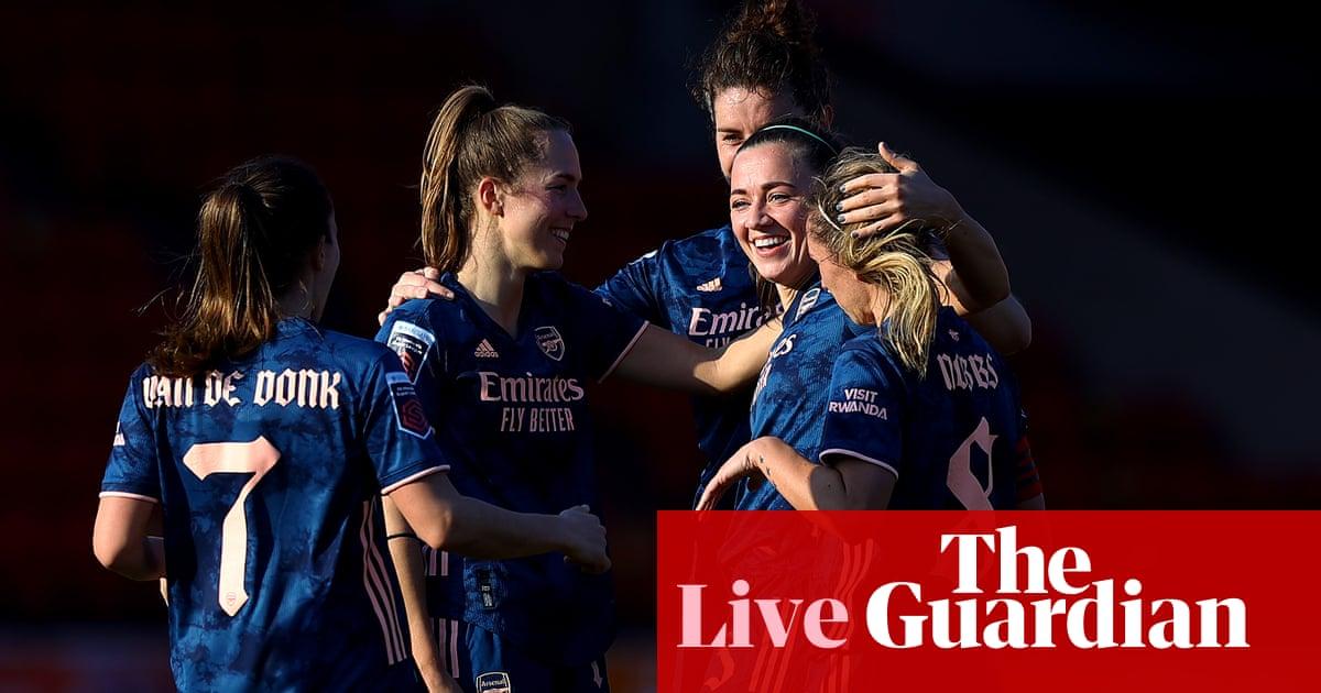 Aston Villa 0-4 Arsenal: Womens Super League – as it happened
