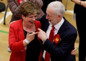 Thornberry with Jeremy Corbyn