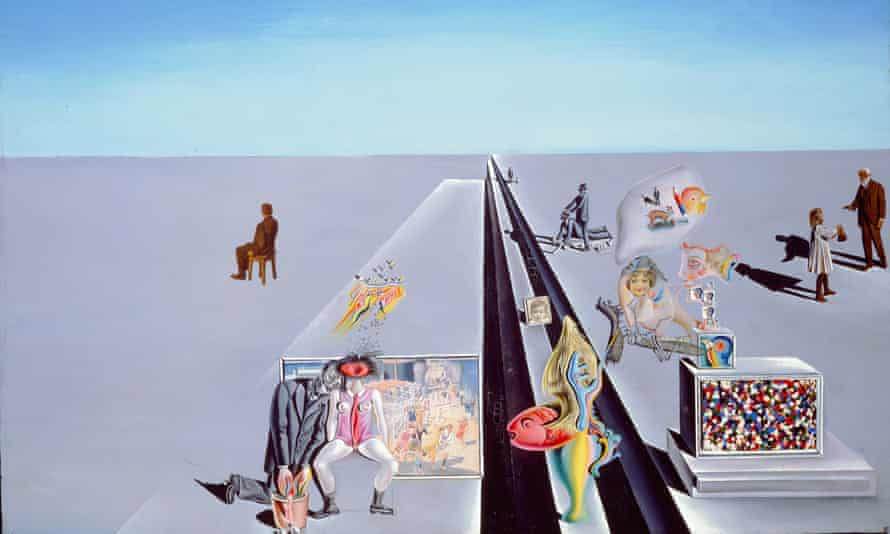The First Days of Spring, 1929, by Salvador Dalí.