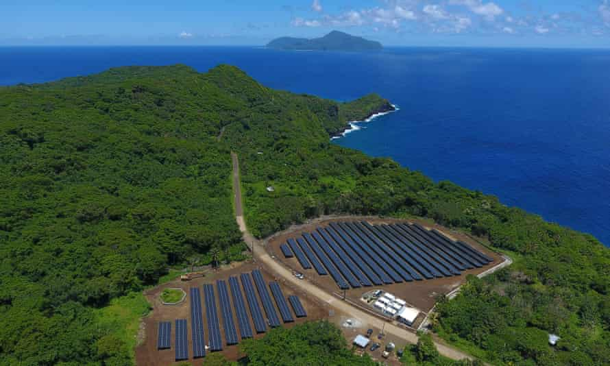 Ta'u island, part of American Samoa, is now off the grid and sustainable with solar power