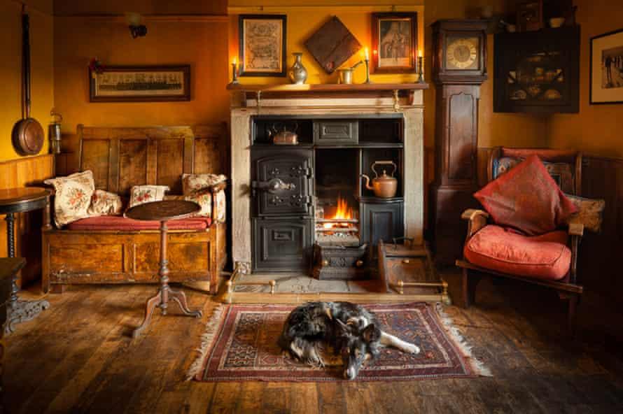 It's a dog's life in Weardale... the Black Bull Inn.