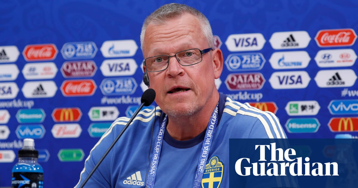307bf2d25 Sweden manager Janne Andersson apologises for spying on South Korea ...