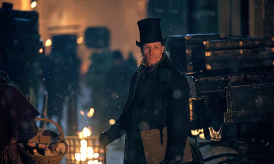 Guy Pearce in A Christmas Carol.