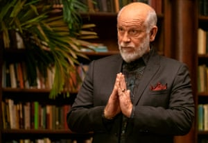 Dialling it up to 11 as a quietly psychotic Russian mobster ... John Malkovich as Grigor Andolov.